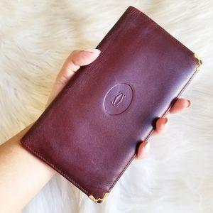 Cartier Vintage Long wallet